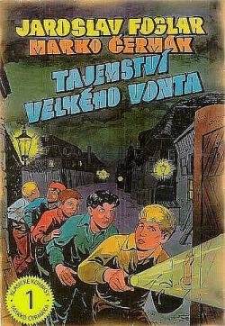 Tajemství Velkého Vonta (komiks) obálka knihy