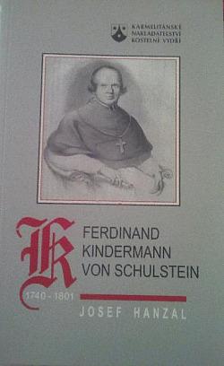 Ferdinand Kindermann von Schulstein obálka knihy