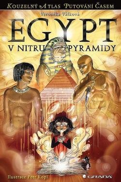 Egypt - V nitru pyramidy obálka knihy