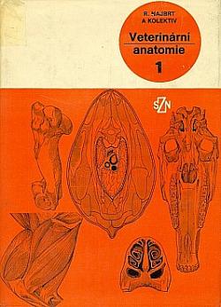 Veterinární anatomie 1 obálka knihy