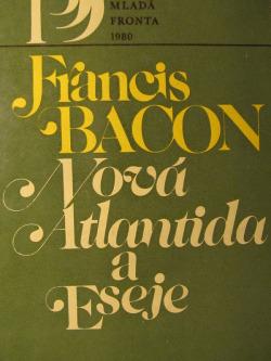 Nová Atlantida a Eseje obálka knihy
