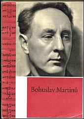 Bohuslav Martinů v obrazech obálka knihy