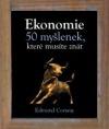 Ekonomie – 50 myšlenek, které musíte znát obálka knihy