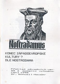Konec západoevropské kultury? Dle Nostradama obálka knihy
