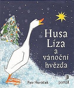 Husa Líza a vánoční hvězda obálka knihy