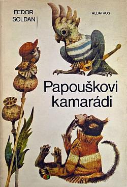 Papouškovi kamarádi obálka knihy