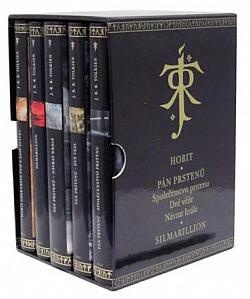 J. R. R. Tolkien – Ilustrovaný dárkový komplet obálka knihy