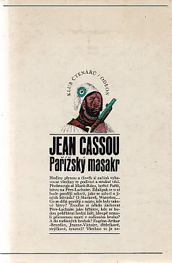 Pařížský masakr obálka knihy