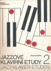 Jazzové klavírní etudy 2 obálka knihy