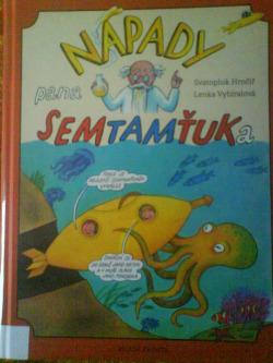 Nápady pana Semtamťuka obálka knihy