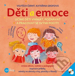 Děti a emoce obálka knihy