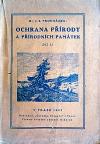Ochrana přírody a přírodních památek, díl II.