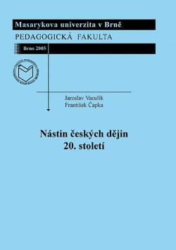Nástin českých dějin 20. století obálka knihy