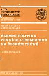 Územní politika prvních Lucemburků na českém trůně