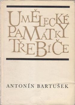 Umělecké památky Třebíče obálka knihy
