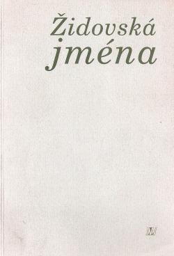 Židovská jména obálka knihy