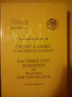 Čechy a Sasko v proměnách dějin