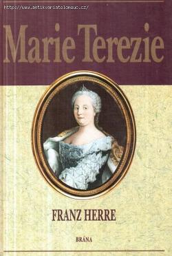 Marie Terezie obálka knihy
