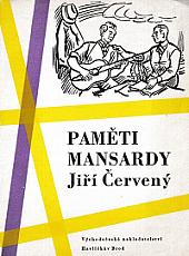Paměti Mansardy obálka knihy