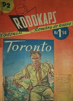 Toronto obálka knihy