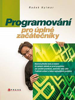 Programování pro úplné začátečníky obálka knihy