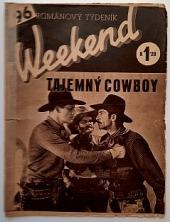 Tajemný cowboy obálka knihy