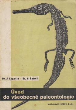 Úvod do všeobecné paleontologie obálka knihy