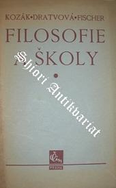 Filosofie a školy obálka knihy