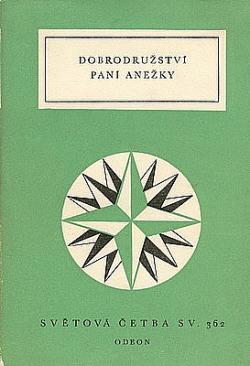 Dobrodružství paní Anežky obálka knihy