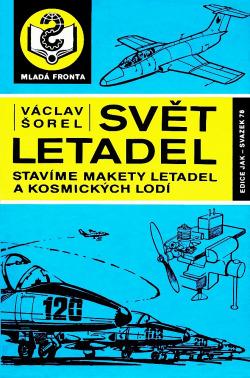 Svět letadel obálka knihy