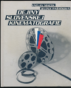 Dejiny slovenskej kinematografie obálka knihy