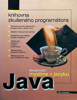 Myslíme v jazyku Java - knihovna zkušeného programátora obálka knihy
