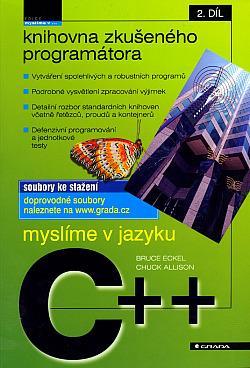 Myslíme v jazyku C++ obálka knihy