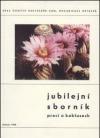 Jubilejní sborník prací o kaktusech obálka knihy