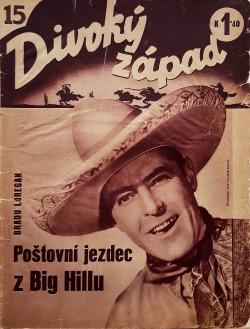 Poštovní jezdec z Big Hillu obálka knihy