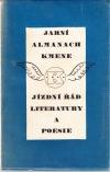 Jarní almanach Kmene - Jízdní řád literatury a poesie