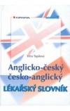 Anglicko-český/česko-anglický lékařský slovník obálka knihy