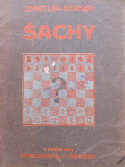Šachy - Rukověť praktické hry obálka knihy