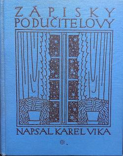 Zápisky podučitelovy I obálka knihy