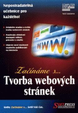 Tvorba webových stránek obálka knihy