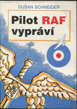 Pilot RAF vypráví obálka knihy