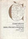 České dějiny : Doba předbělohorská. Kniha I, 1526-1547. Díl 2 obálka knihy