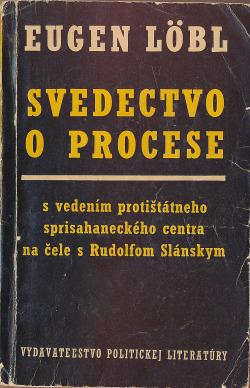 Svedectvo o procese obálka knihy