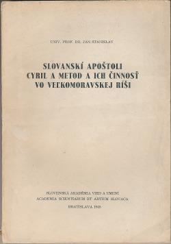 Slovanskí apoštoli Cyril a Metod a ich činnosť vo Veľkomoravskej ríši