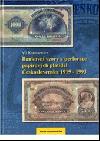 Bankovní vzory a perforace papírových platidel Československa 1919-1993 obálka knihy
