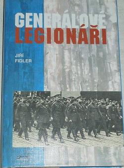 Generálové legionáři obálka knihy