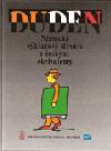 Duden: německý výkladový slovník s českými ekvivalenty
