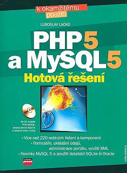 PHP 5 a MySQL 5 - Hotová řešení obálka knihy