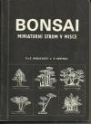 Bonsai, miniaturní strom v misce