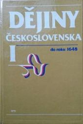 Dějiny Československa I. do roku 1648 obálka knihy